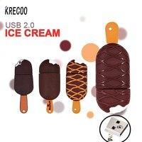 2017 New Cute Ice Cream Popsicle Style Pen Drive 4GB 64GB Usb Memory Stick Storage USB