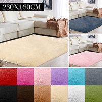 Fluffy Rugs Fluffy Mat 160x230cm Floor Polyester Fiber Multicolored Decoration Area Rug Home Sofa Carpet Floor