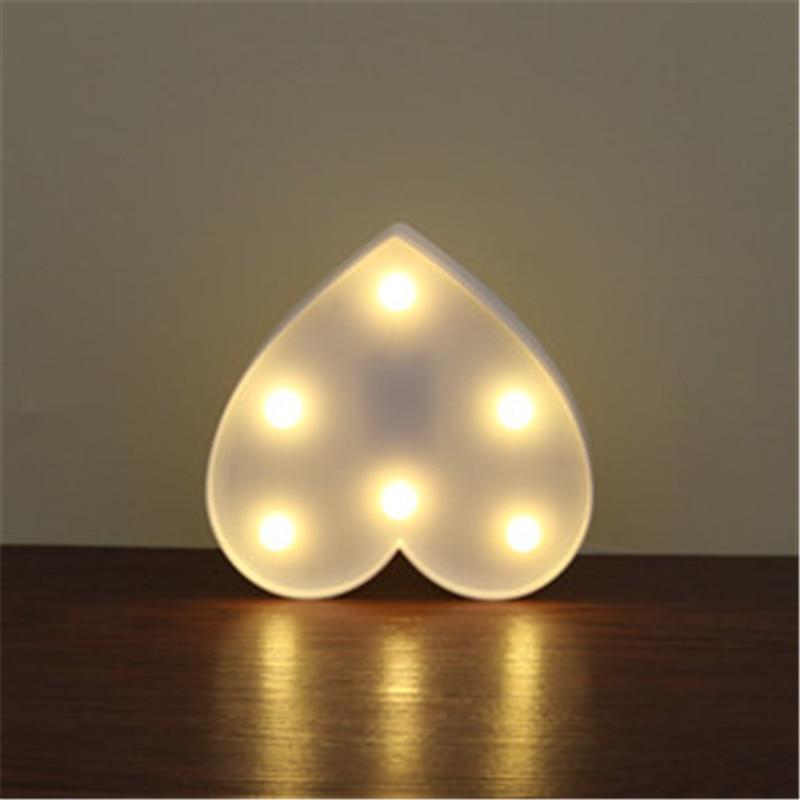 Luzes da Noite ledvalentines sinal lâmpadas decoração Marca : Lumiparty