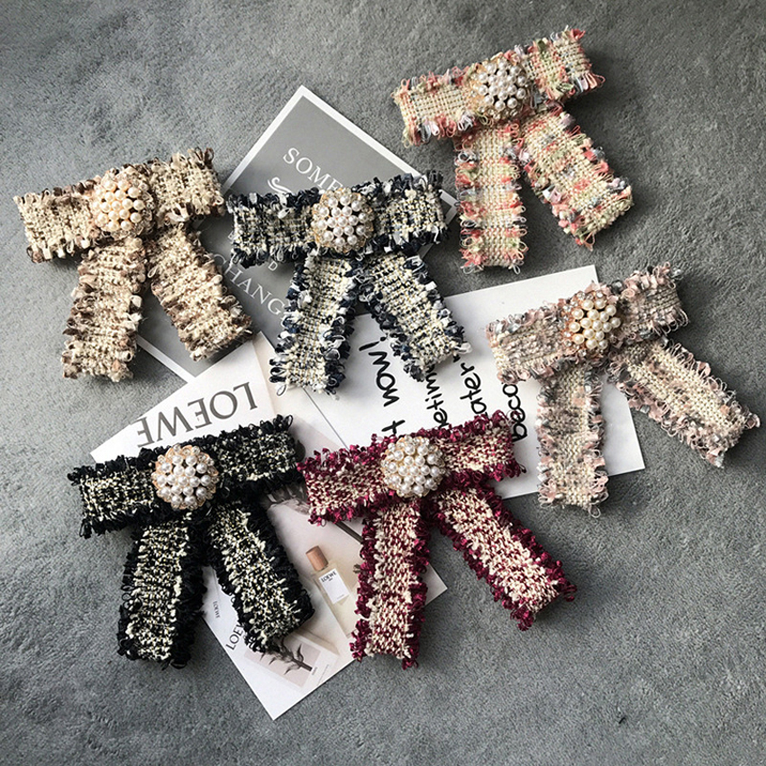 Women Bow ties korea style Butterfly Beautiful Bowtie fashion Polyester Brand Neckwear girl 39 s shirt accessories Free Shipping in Women 39 s Ties amp Handkerchiefs from Apparel Accessories