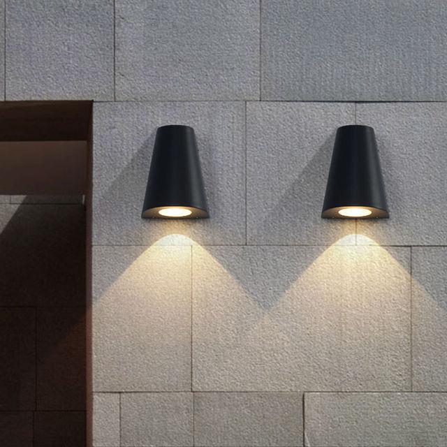 Moderne LED wandlamp Veranda lichten Waterdichte IP65 voor badkamer ...
