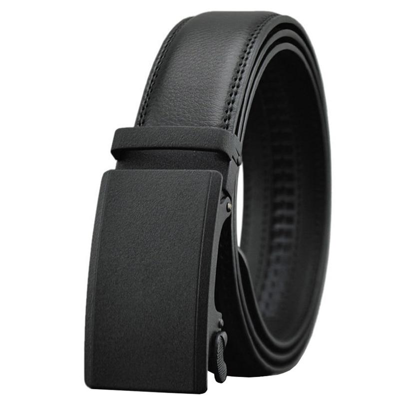 """Men's 38""""- 54"""" Ratchet Dress Belts Genuine Leather Famous Brands gg Belts for Men Adjustable Slide Buckle Big and Tall"""