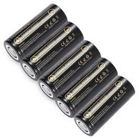 HK lii-50A LiitoKala 26650 5000 mah 3.7 v Li-ion Recarregável baterias Vape Cigarro Lanterna LED Luz Da Tocha