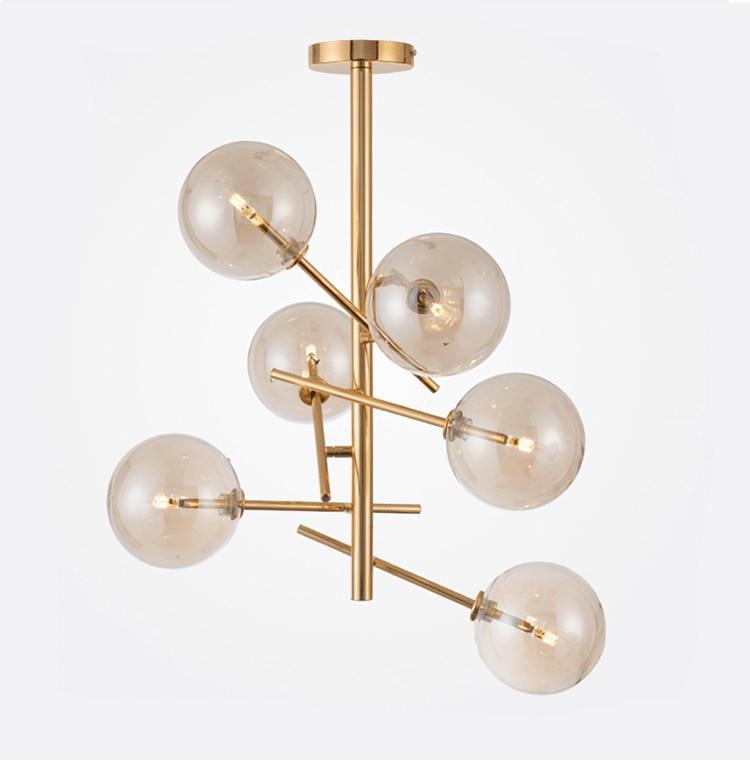 Freeshipping Post-modern Creative Designer Restaurant Art Individual Glass Ball Modo Pendant Lamp Gold Pendant Lights freeshipping glass clip base ns4802