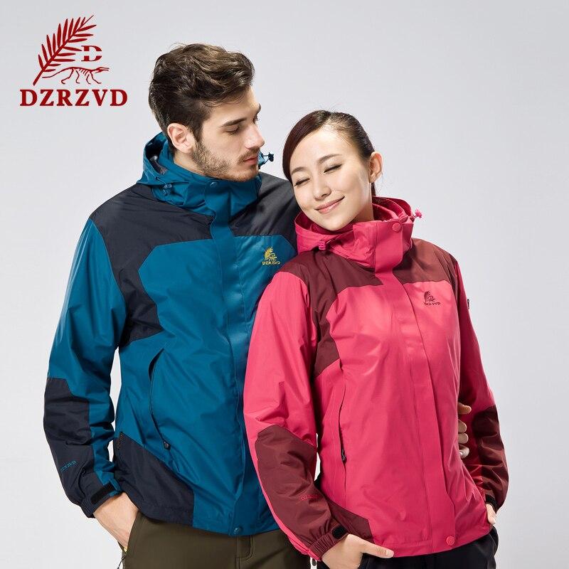ФОТО Free Shipping Winter Outdoor Fleece Two-Piece Windbreaker Jacket Men Women Waterproof Polartec Sportswear Coats