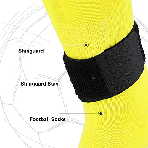 1 Pair football fixed leg sports protective gear soccer socks leggings Guards Guardian calf fixing belt free shipping