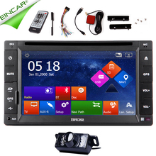 GPS MP4 RDS Auto Radio 2 din CD Stereo Music SD 6.2″ Map MP5 Car DVD Player Camera iPod System Electronics 3D