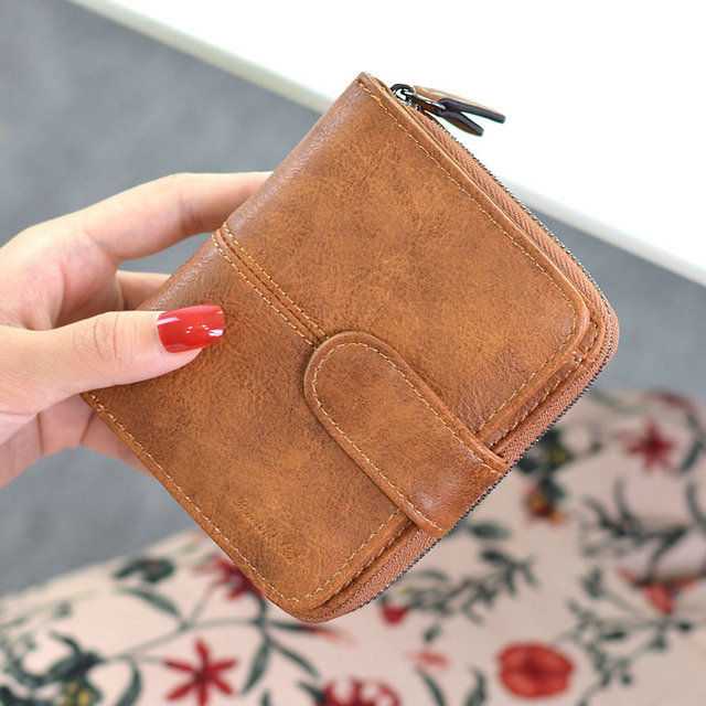 2019 kobiet portfele mała krótka modna marka PU skórzana portmonetka kobiety panie portfel z saszetką na karty torba dla kobiet portfel portmonetka kobieta