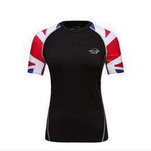 CKAHSBI Running Shirts Men Women Short Sleeve Sports Gym Crossfit Fitness Soccer Jersey Training Run T Shirt Jogging Sweat Shirt