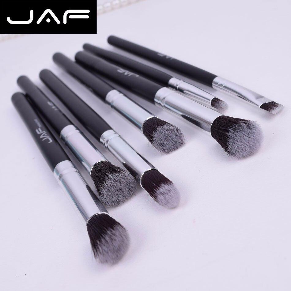 JAF Professional 7CS Portable Eyeshadow Makeup Brushes Set Eye Blending Smudge Shading Make Up Brushes pinceis de maquiagem