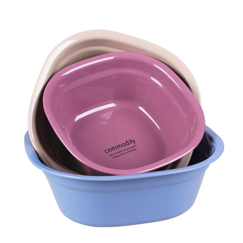3 Pieces/set Baby Bath Tub Plastic Baby Washbasin Pp Tub Child ...