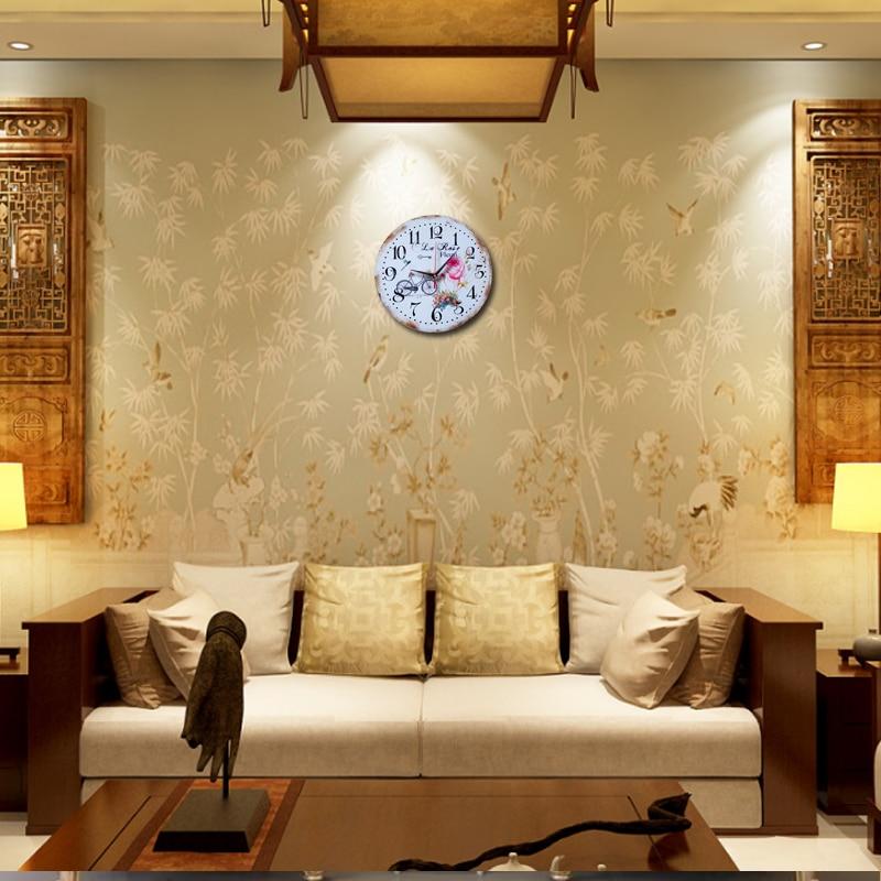 2017 hot sale wall clock reloj de pared large decorative clocks ...
