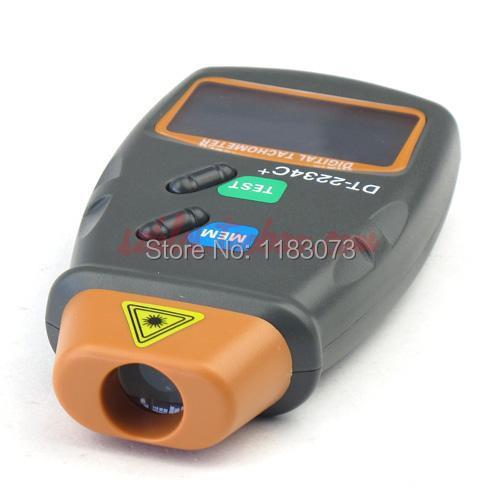 Cyfrowy laserowy obrotomierz 2.5-100000 RPM Elektroniczny obrotomierz - Przyrządy pomiarowe - Zdjęcie 4