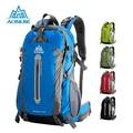 Aonijie outdoor sport camping caminhadas sacos de ombro sacos de viagem mochila de bicicleta à prova d' água mochilas 40l 50l