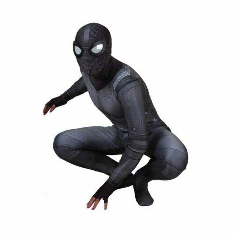 Verantwoordelijk Spiderman Ver Van Huis Cosplay Kostuum Jumpsuit Shield Spiderman Sneak Peter Parker Noir Battle Suit Nieuwste Technologie