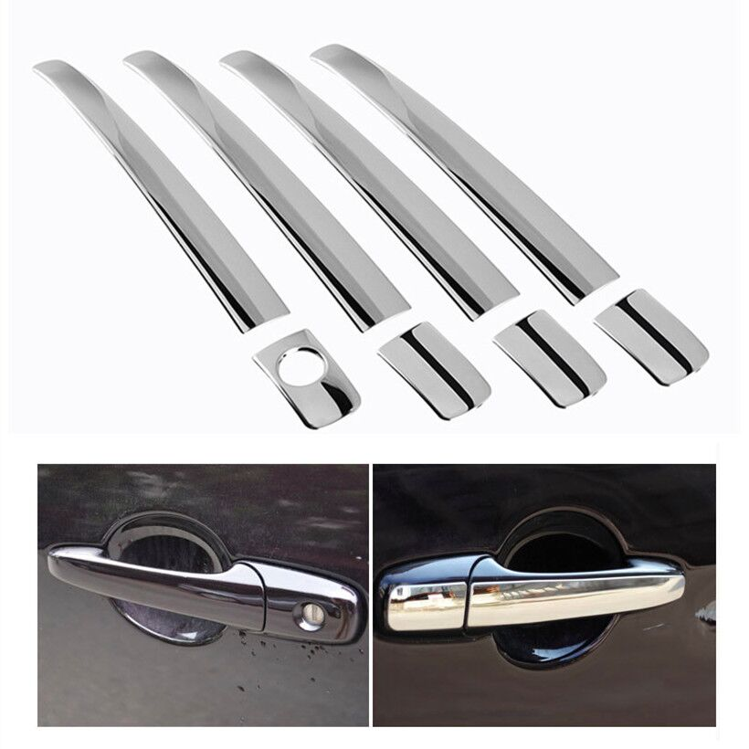Stainless Steel <font><b>Door</b></font> <font><b>Handle</b></font> Cover Trim For <font><b>Ford</b></font> Ranger <font><b>Everest</b></font> 2006 2007 2008 2009 2010 2011 Car Sticker Car Styling image