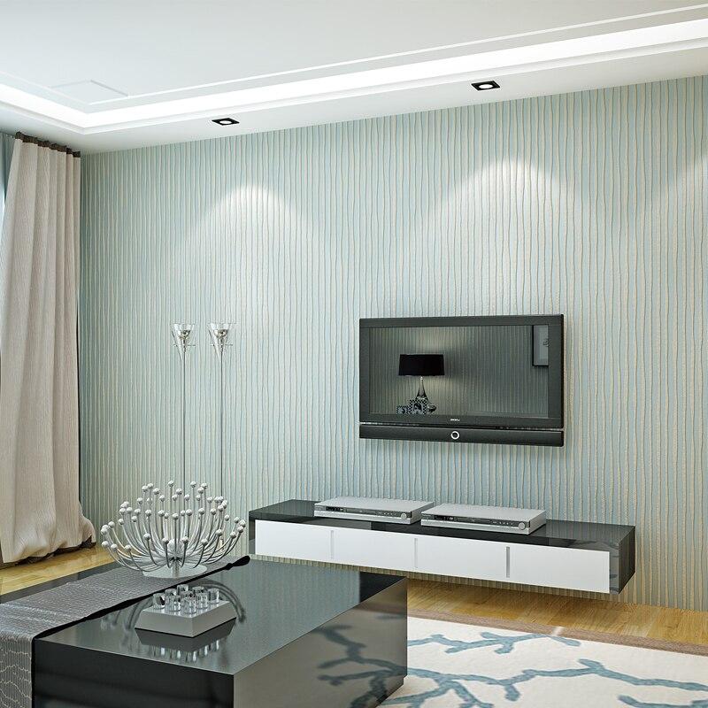 beibehang home decor designer shimmer wave lines striped vinyl decor ...