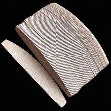 Tampons de remplacement zèbre amovible, 200 pièces, tampons de papier de verre jetables pour salon de coiffure, grain 100/180 /240
