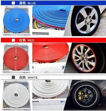 Car Styling Wheel Hub Tire Stickers For Volkswagen VW Beetle A5 Fox Golf 4 5 6 7 E Jetta 5 6 Phaeton Pointer Car Accessories(China)