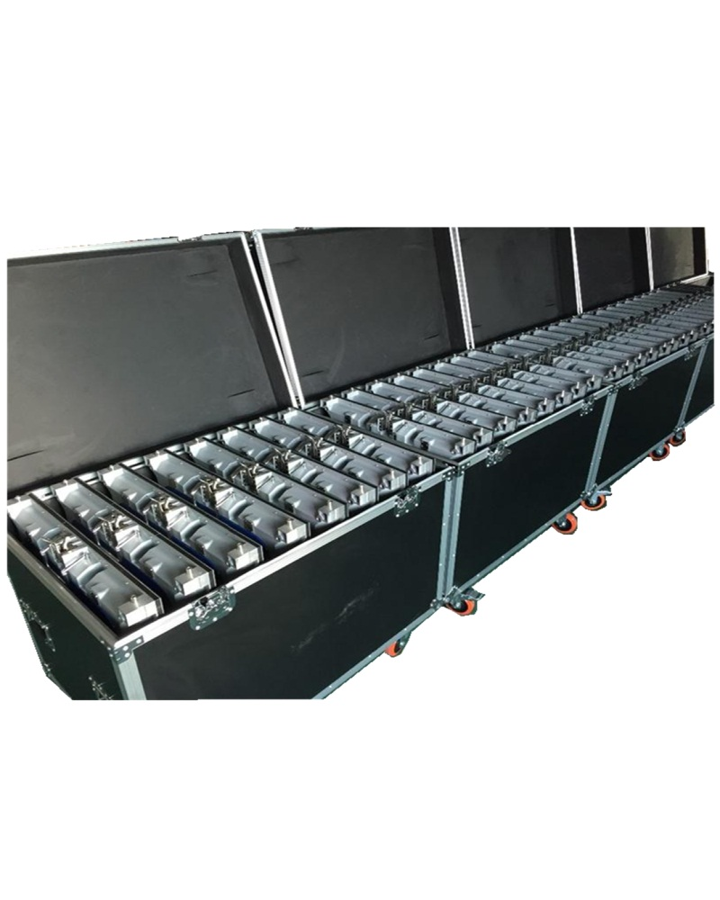 P3.91 P4.81 Flight Case Die Casting Aluminum 500mmX500mm Flight Case 1 Pack 6 Or 1 Pack 8 Flight Case Or Customize