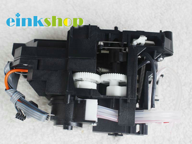 Original New Ink Pump Assembly for Epson Stylus Photo R1900 R1800 R2000 R2400 R2880 Ink pump ink pump for roland sj640 ra640 re640 re540 fh740 vs300 vs540 vs640 vp300 vp540 xf640 rf640 rfa640 roland ink pump u type