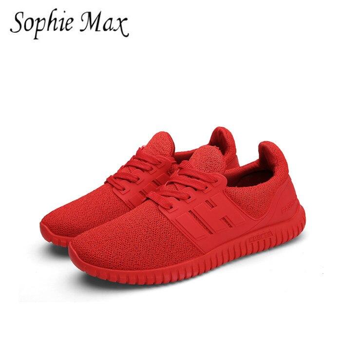 Sophie max 2016 automne modèles étudiant chaussures de course en gros rouge sport style taille 40-44 900026