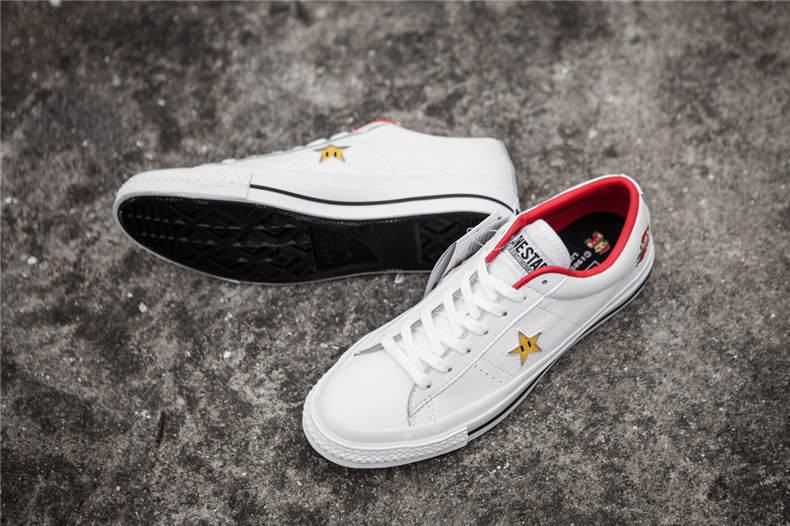 681b4fb28c US $59.99 |2018Original new CONVERSE ALL STAR shoes Super Mario ONE STAR  Men/women sneakers low canvas Skateboardings Shoes 36 44-in Skateboarding  ...