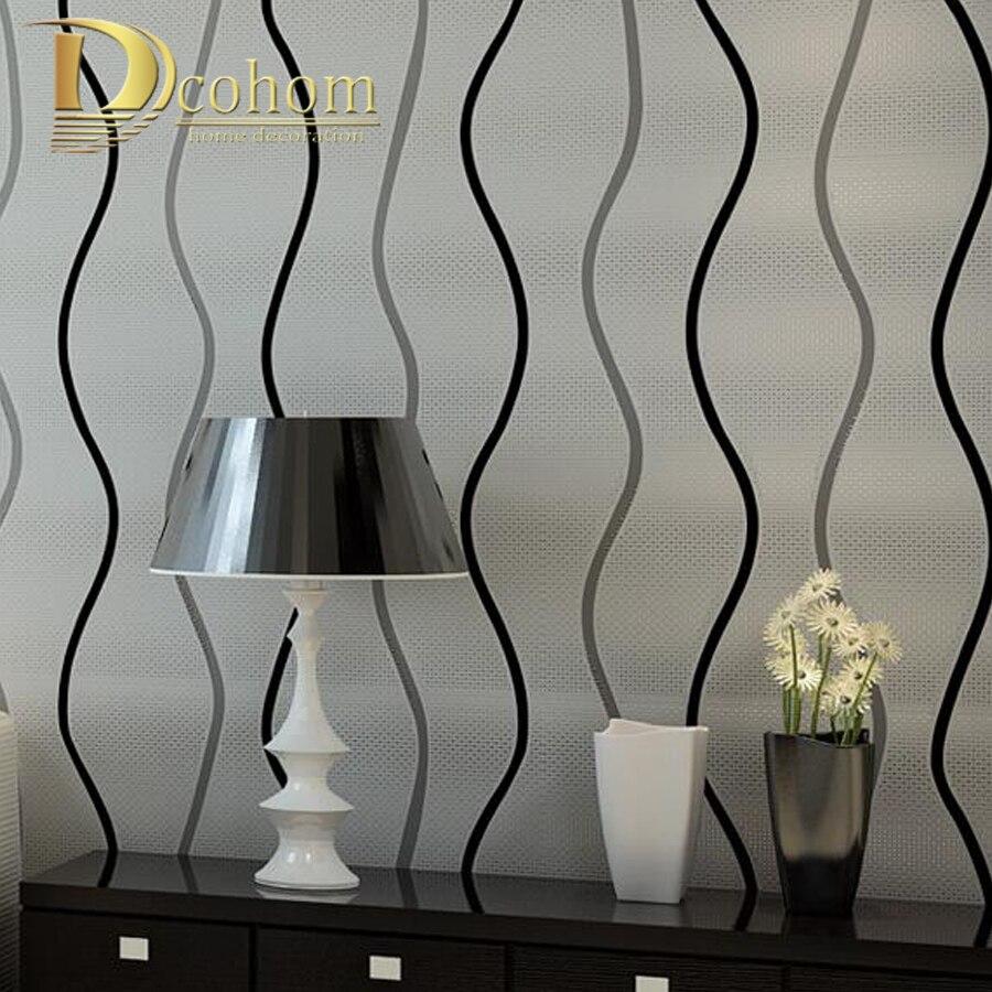 Einfache Moderne 3d Stereoskopische Tapeten Schlafzimmer Wohnzimmer