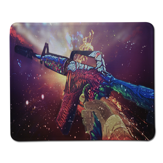 29030153e84 Original Hyper Beast Game Large Size Mouse Pad Lock Edge Rubber Mousepad  For Optical Trackball Laser Gaming Mice Mat