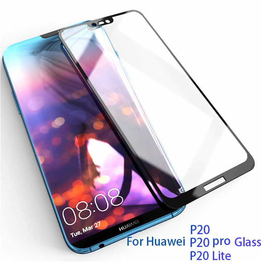 Full Tempered Glass for Huawei P20 P10 Lite P Smart Plus Y5 Y6 Y7 Prime 2018 Glass Cover on for Honor 7A 7C Pro Screen Protector
