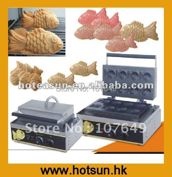 110V 220V Electric Fish Taiyaki Waffle Maker Machine