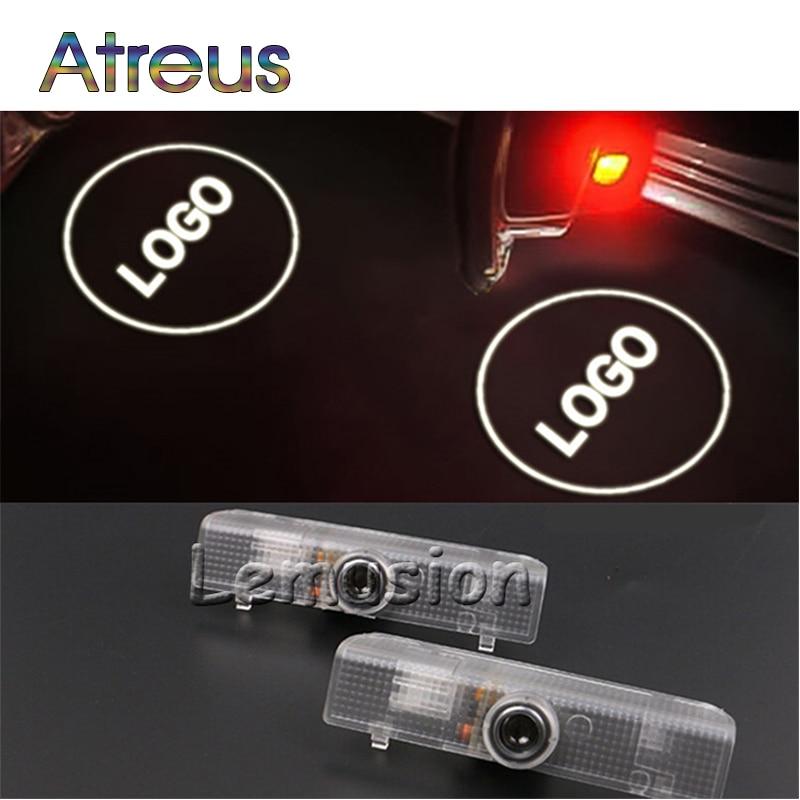Atreus 2X LED Courtesy Lamp Car Door Welcome Light 12V Projector For - Car Lights