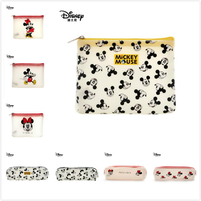 Genuine Disney New Mickey Mouse Fashion Mommy Bag Multi-function pencil Bag Wallet Purse Bag For children toy Doll birthday gift Щенячий патруль