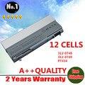 Venta al por mayor nuevos 12 celdas de la batería del ordenador portátil para Dell Latitude E6400 E6410 E6500 E6510 PT434 PT435 PT436 PT437 envío gratis