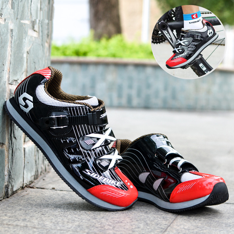 SIDEBIKE 2017 Road Cycling Shoes Men Outdoor Sports Sneakers Breathable Non-lock Bike Shoes MTB Bicycle Leisure Sports Shoes цена 2017