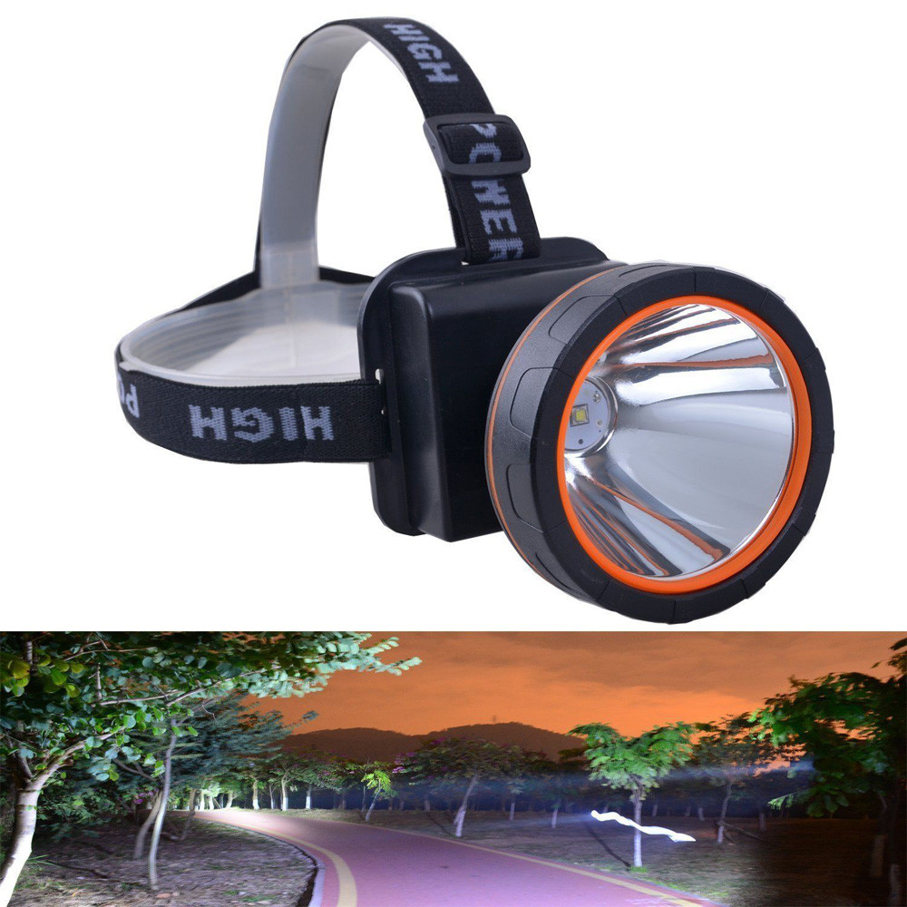 New High Quality Super Bright LED Headlamp Rechargeable Headlight 5000 Lumens for Hunting Drop Shipping
