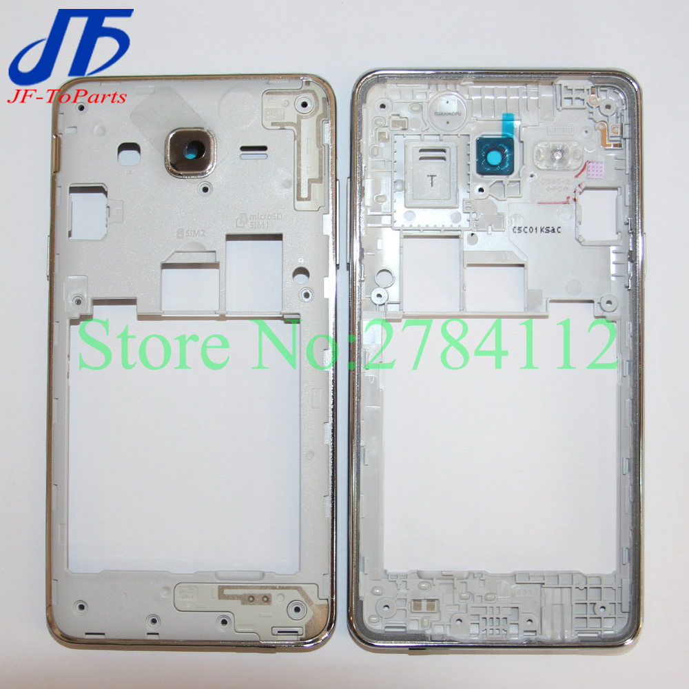 10Pcs ON5 G5500 Middle Frame Plate For Samsung Galaxy J5 Prime ON5 G5500 / J7 Prime On7 G6100 Middle Frame Bezel Case Housing