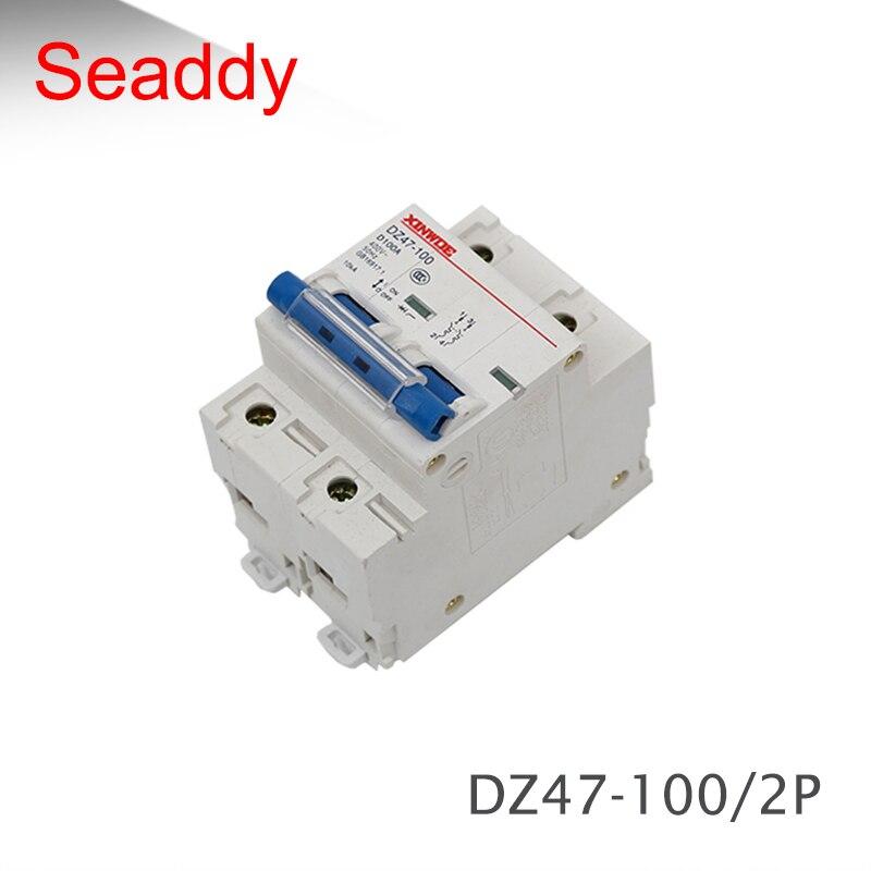 2P Dc120V 63A 80A 100A 125A Interruptor///Autom/ático/Dc