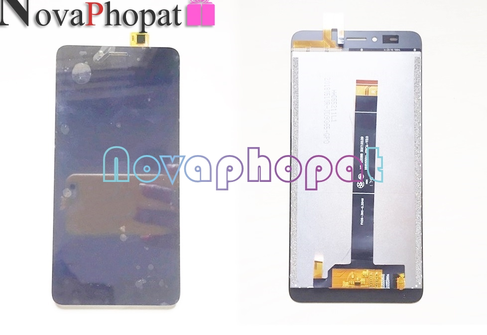 Novaphopat For BQ BQ-5510 Strike Power Max 4G 5510 BQS-5510 LCD Display Screen With Touch Screen Digitizer Full AssemblyNovaphopat For BQ BQ-5510 Strike Power Max 4G 5510 BQS-5510 LCD Display Screen With Touch Screen Digitizer Full Assembly