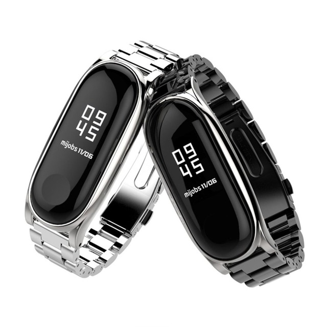 ONLENY Mijobs Strap Screwless Stainless Steel Bracelet Smart Case Replace Accessories