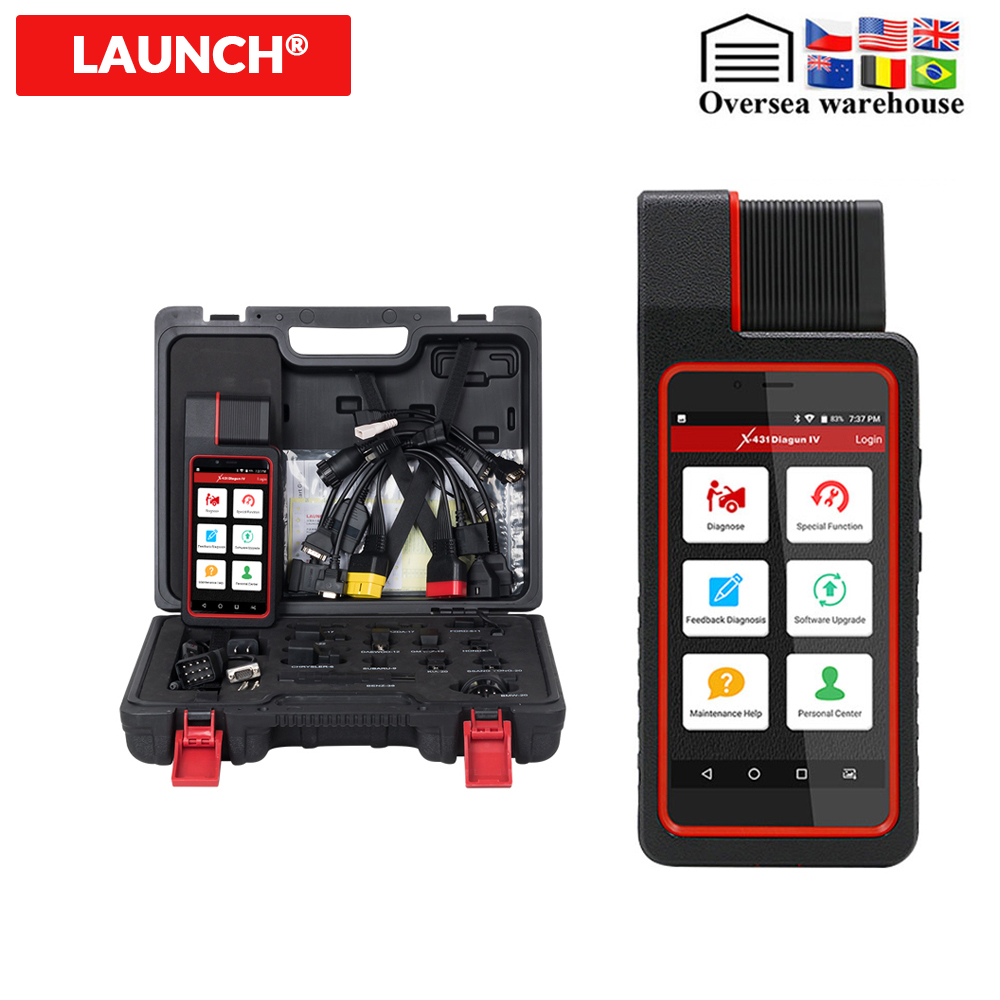 LAUNCH X431 Diagun IV with full set adapters OBD2 Diagnostic tool as X 431 pro mini