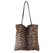 High Quality Women Leopard Print Handbag Shoulder Ladies Purse Messenger Satchel Shopping Tote Bag 2017 new fashion lady capacity shopping handbag shoulder canvas bag tote purse high quality women s messenger bag dropshipping