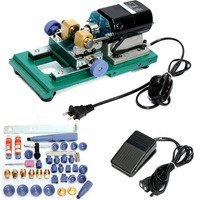 240W 110V HIGH POWER Adjustable Speed Pearl Drilling Machine Holing Machine Pearl Punching Machine