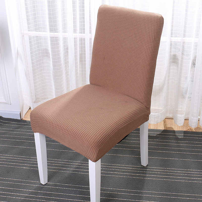 Surprising Simple Nordic Style Seat Chair Covers Elastic Linen Cotton Slipcover For Hotel Dining Room Quality Removable Kitchen Chair Cover Creativecarmelina Interior Chair Design Creativecarmelinacom