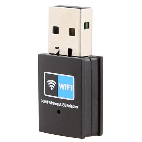 Faster 300M USB WiFi Wireless LAN 802.11 n/g/b Adapter Nano Network 300Mbps