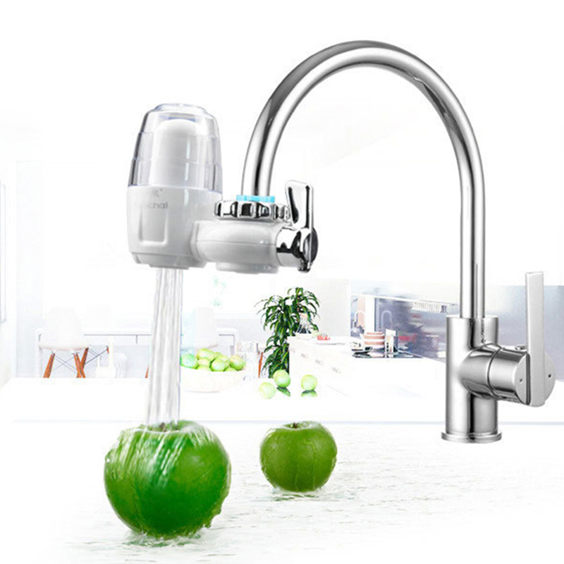 New Brand Household Water Filter Diatom Ceramic Activated Carbon Tap Faucet Water Filter Health Kitchen Water Purification WF002 1pcs kitchen water filter faucet healthy ceramic cartridge tap household activated carbon faucet mineral clear filter for water