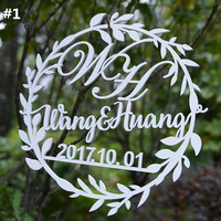 Personalized Wedding Party Decoration Customized 32cm Couple Marriage Decoration Party Prop Supplies