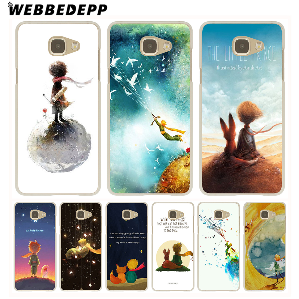 WEBBEDEPP The Little Prince <font><b>Hard</b></font> <font><b>Case</b></font> for Galaxy A3 <font><b>A5</b></font> A7 A8 A9 <font><b>2016</b></font> 2017 2018 A6 A8 Plus 2018 Note 10 Plus 8 9 Grand image