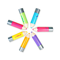 professional Lip Balm Fantastic Crayons Funky Unisex Pencil Shaped Solid Moisturizer stick Lip Balm lip gross