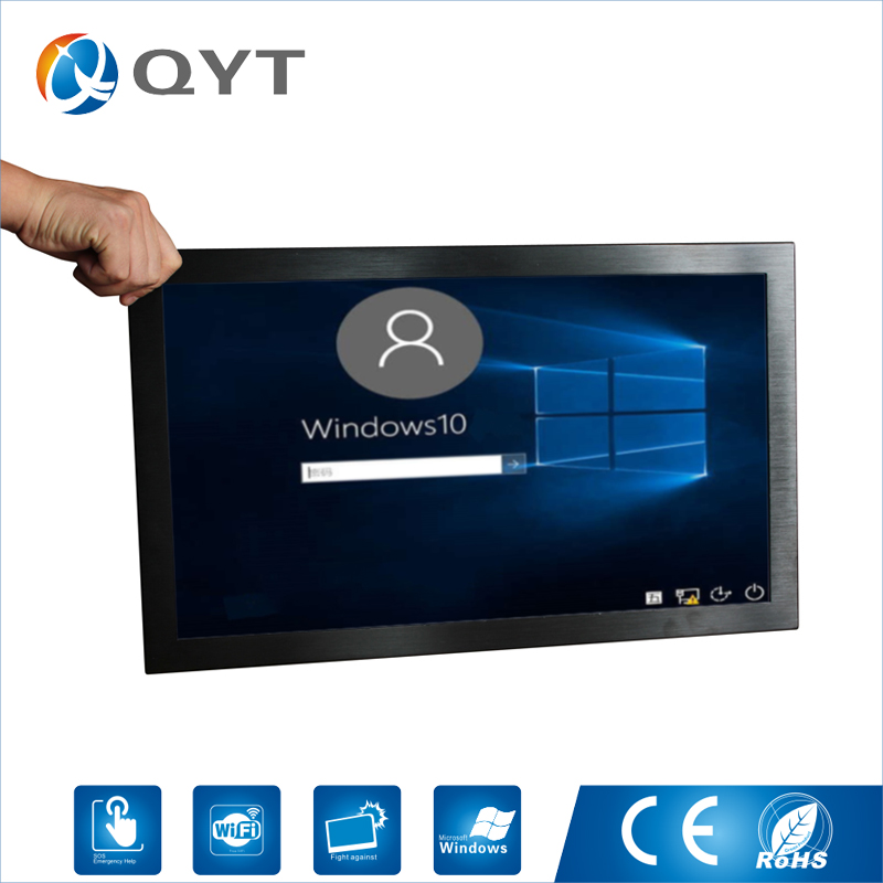 21.5 all-in-one pc With Intel Core i7 4790 Core i5 4460 Core i3 4170 4GB DDR3 64G SSD Industrial Embedded Panel Pc Windows 10